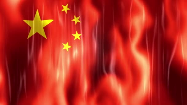 Video of China Flag