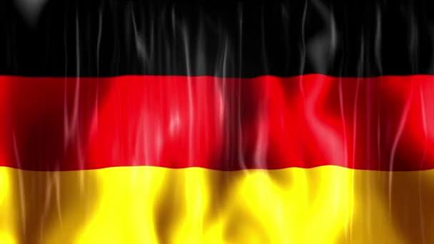 Video německého vlajky