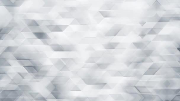 Bílé trojúhelníky abstraktní pozadí