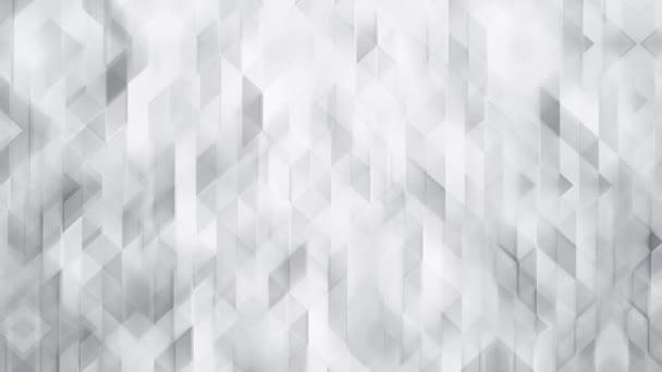 Bílé trojúhelníkové mnohoúhelníkové abstraktní pozadí