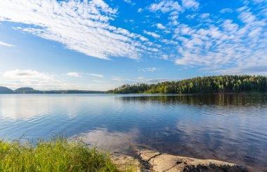 View of Lake Ladoga