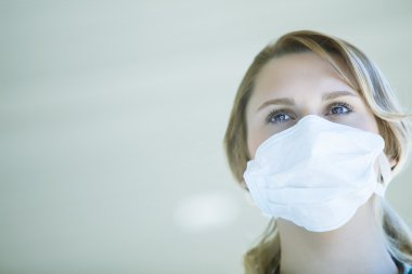 Doctor wearing face mask