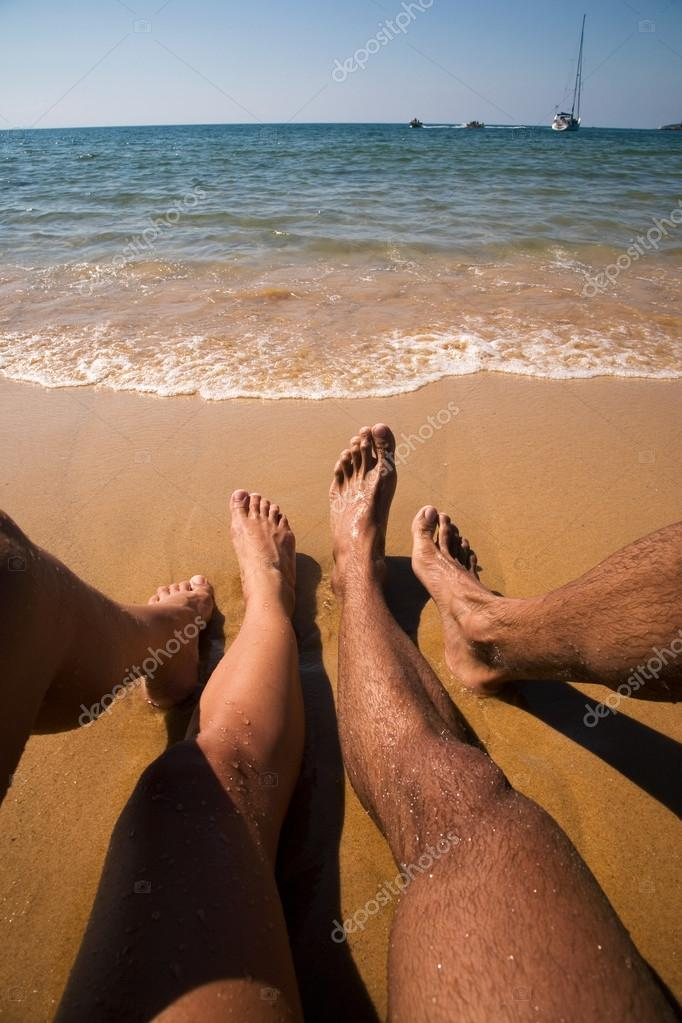Красивое фото женское на пляже