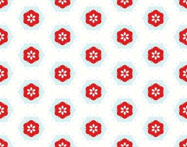 Multicolor geometric pattern in bright color