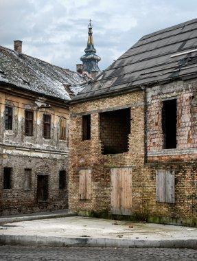 Spooky abandoned houses