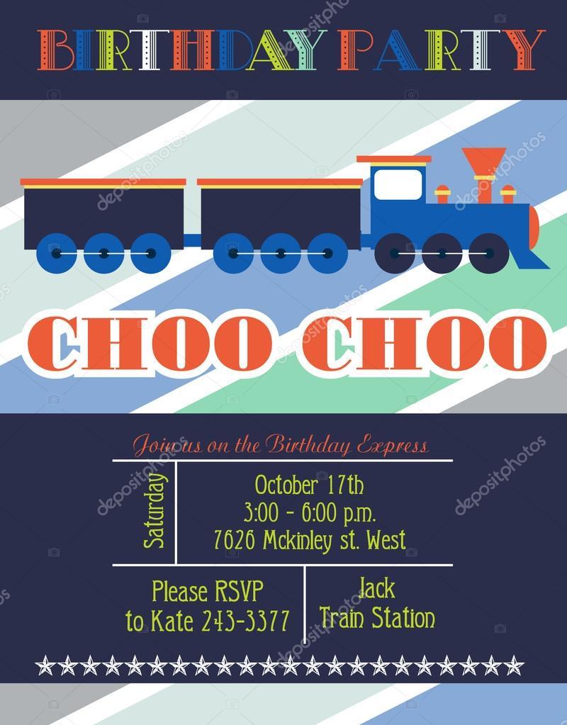 Einladung Zum Kindergeburtstag Stockvektor C Miobuono12 62406727