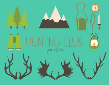 Hunting club icons