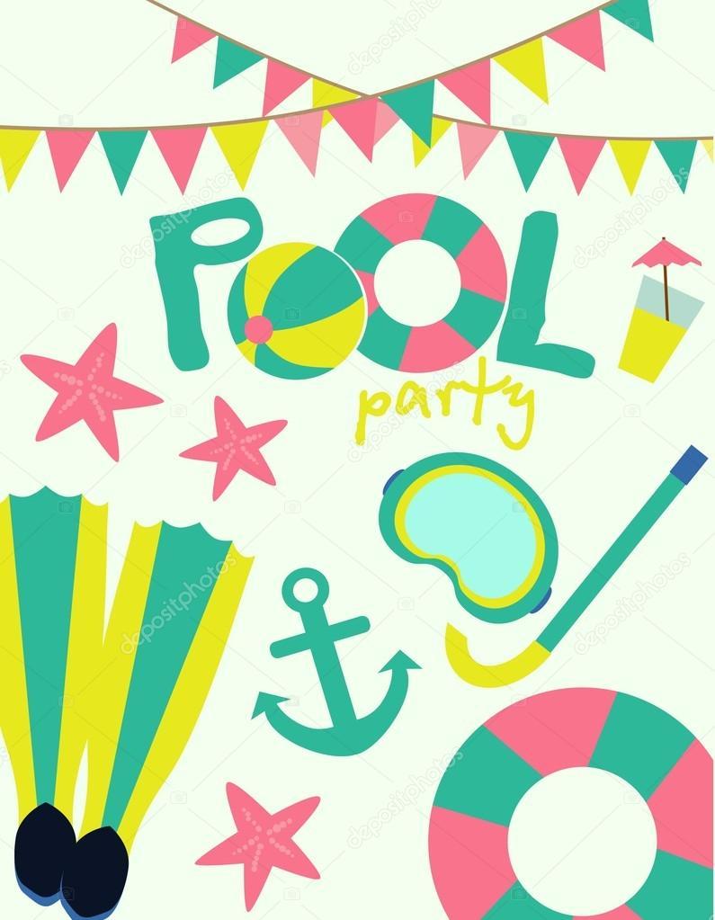 Pool party invitation stock vector miobuono12 68251077 pool party invitation stock vector stopboris Images