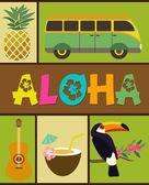 Fotografie Aloha-Partei