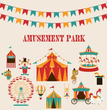 Amusement park party