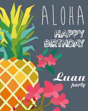 Aloha party. Birthday party