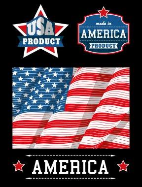 Made in USA logos