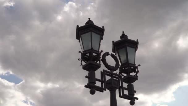 Město lucerna starý styl v evropa města