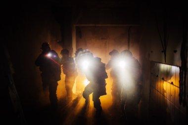 Night Ranger military operation command