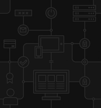 Internet Security Black Pattern