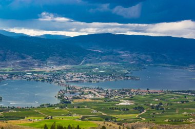 Osoyoos British Culumbia Canada and Osoyoos Lake