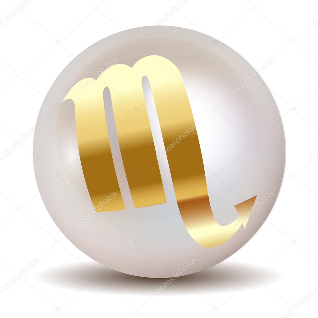 Pearl - Gold HOROSCOPE SIGNS OF THE ZODIAC Scorpio 23 October - 21 November.