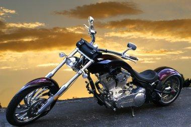 Custom V-Twin bike