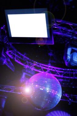 LCD disco monitor