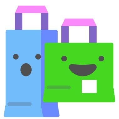 Shopping icon vector illustration icon