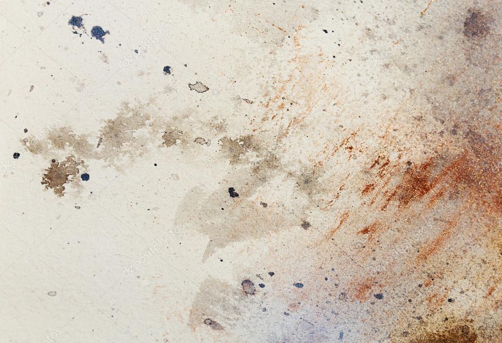 Peinture Abstraite Avec Structure Floue Et Coloree Metal Effet