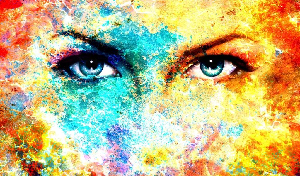 Resultado de imagen para ojos pintura