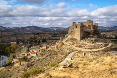 Zorita castle ruins