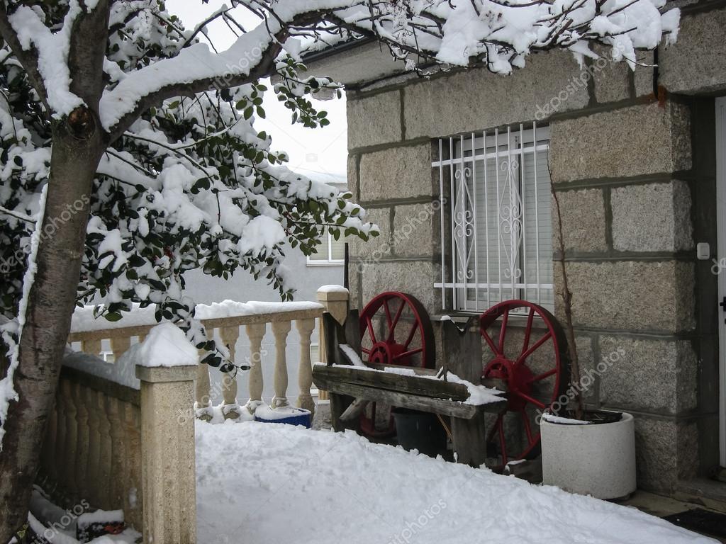 Winter in Puebla de Sanabria