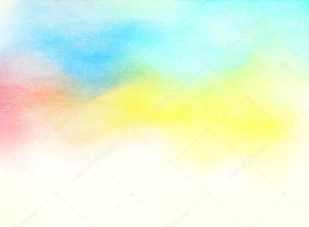 Acuarela Color. Fondo De Textura Grunge. Fondo Suave