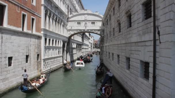 kanálů v Benátkách