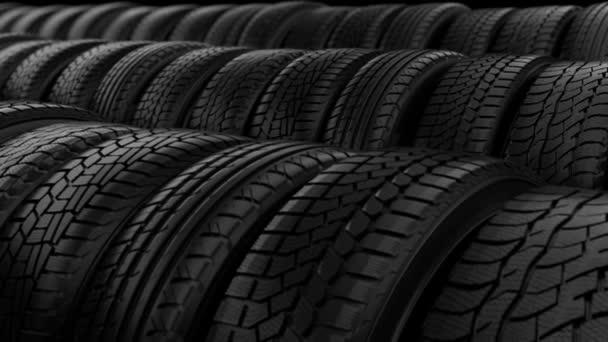 Auto a pneumatiky kola úložiště noční černé světlo