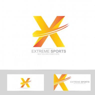 Letter X extreme logo