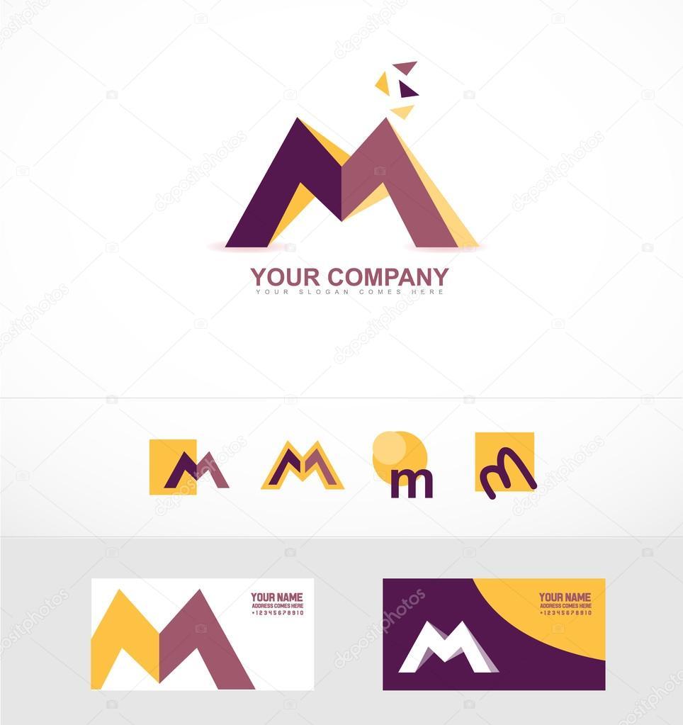 letter m logo icon � stock vector 169 dragomirescu 98304040