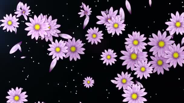 pozadí abstraktní květy