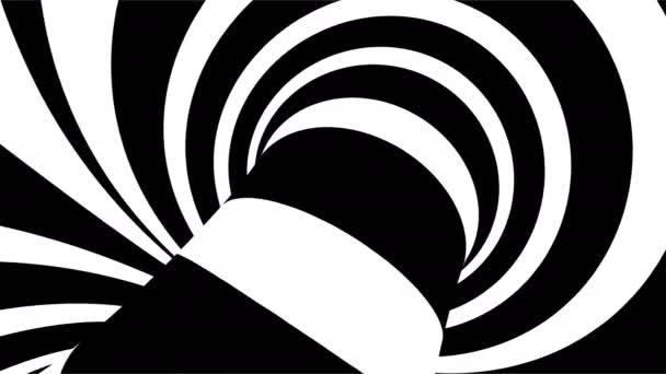 Streifen drehen sich hypnotisch