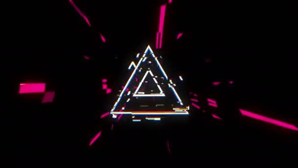 Tunel geometrické trojúhelníků