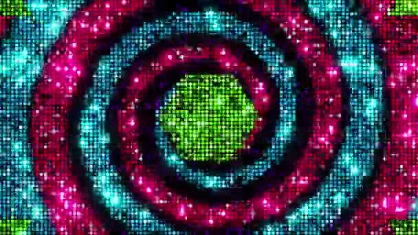 LED disco fények villogó