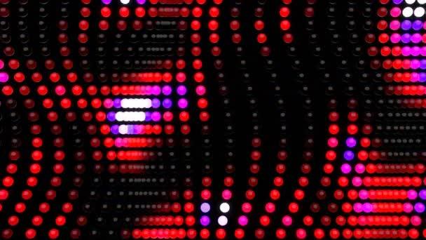 Háttér LED digitális vizuális animáció. Looped zökkenőmentes absztrakt színes geometriai robbanásveszélyes hatású felvételek ideális címek, bemutatók vagy VJ használatra.