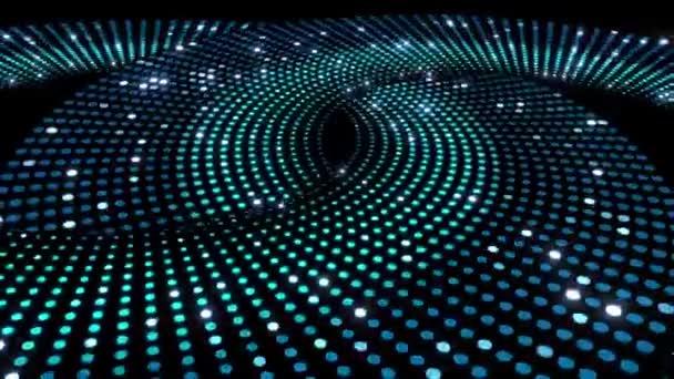 LED tér spirál háttér