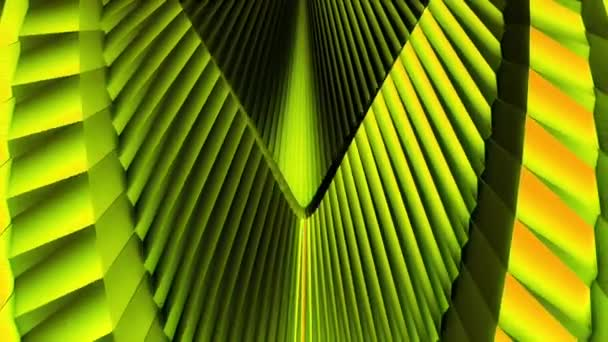 Sárga-zöld absztrakt mechanismus