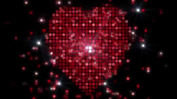 absztrakt szív háttér