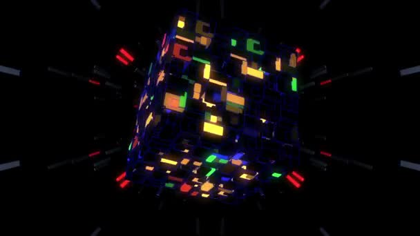 Colorful Cube Transformation