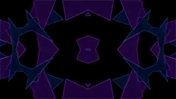 Blikání trojúhelník pozadí