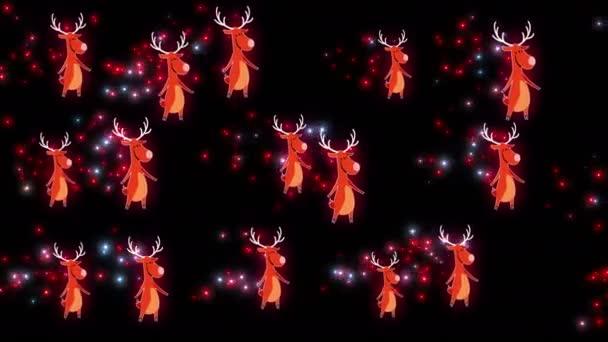 animierter weihnachtlicher Hintergrund