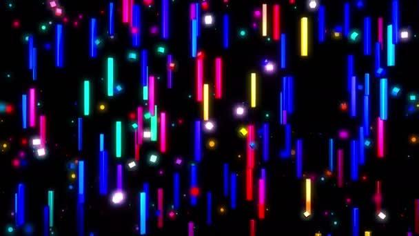 Pohyblivé barevné čáry