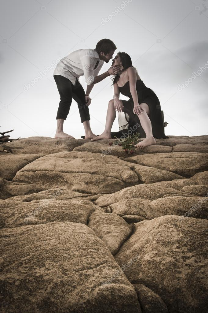 mit freiem Rock flirten
