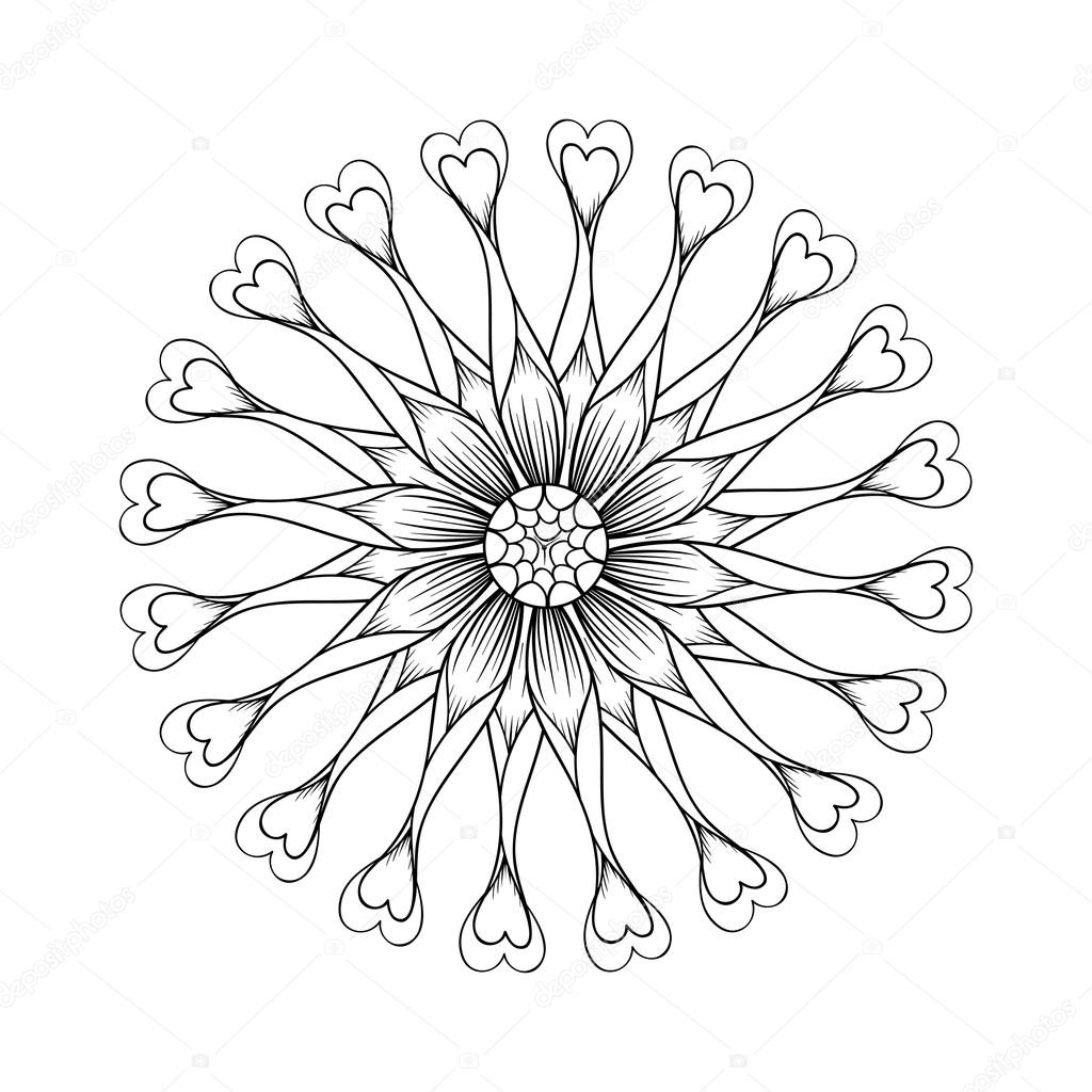 flower power coloring pages - photo#20