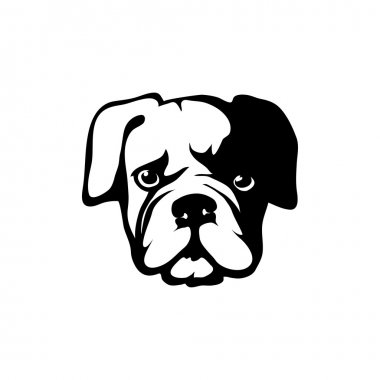 bulldog head logo