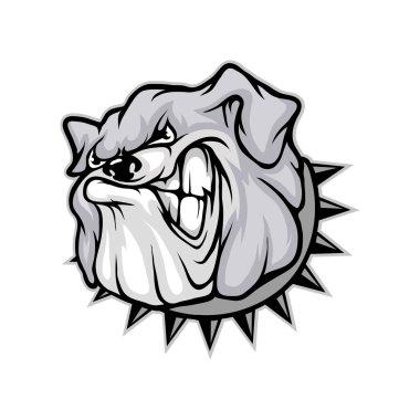 bulldog logo template