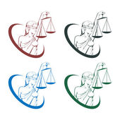 Fotografie Lady justice logo